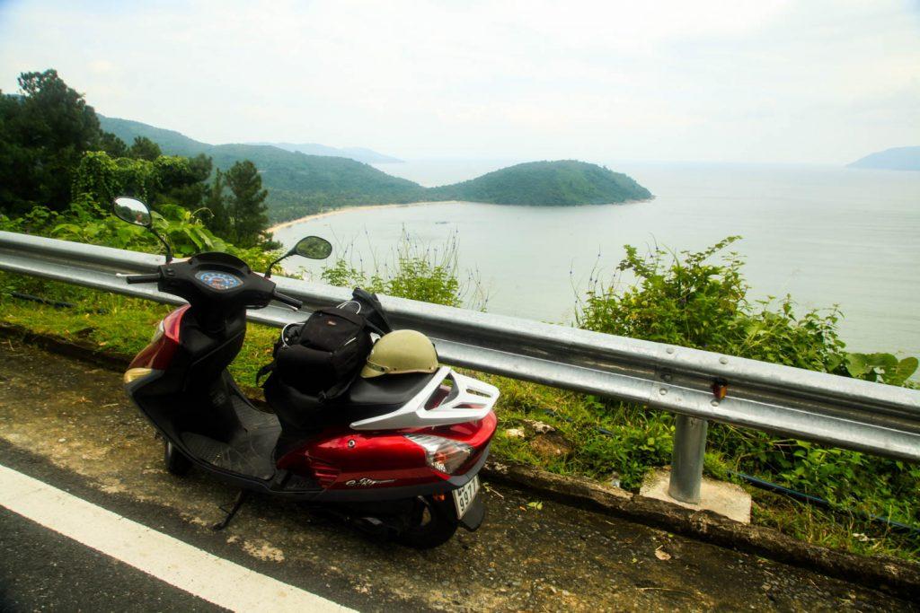 Driving the Hai Van Pass