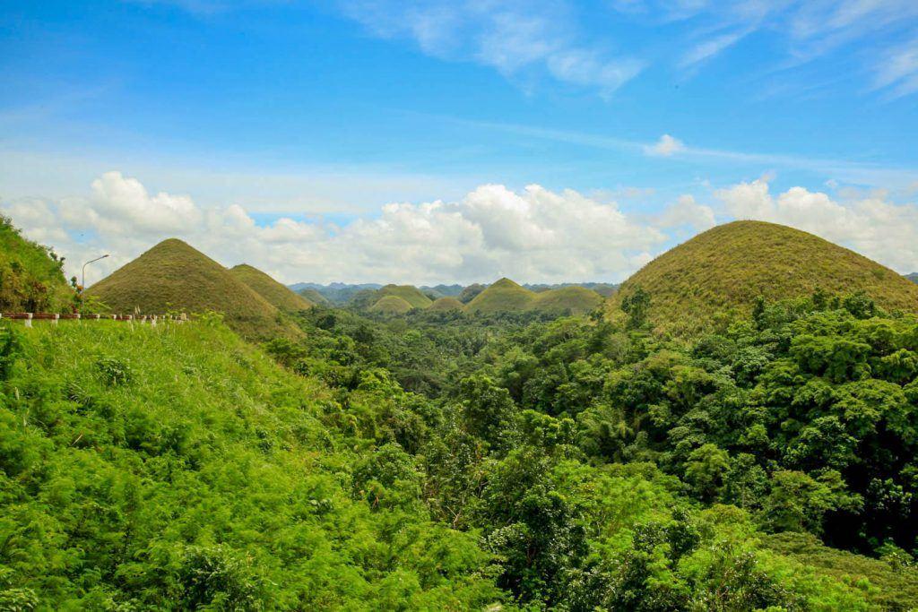 Philippine Chocolate Hills Bohol