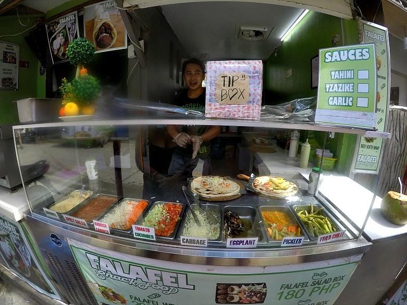 Best falafel El Nido Philippines