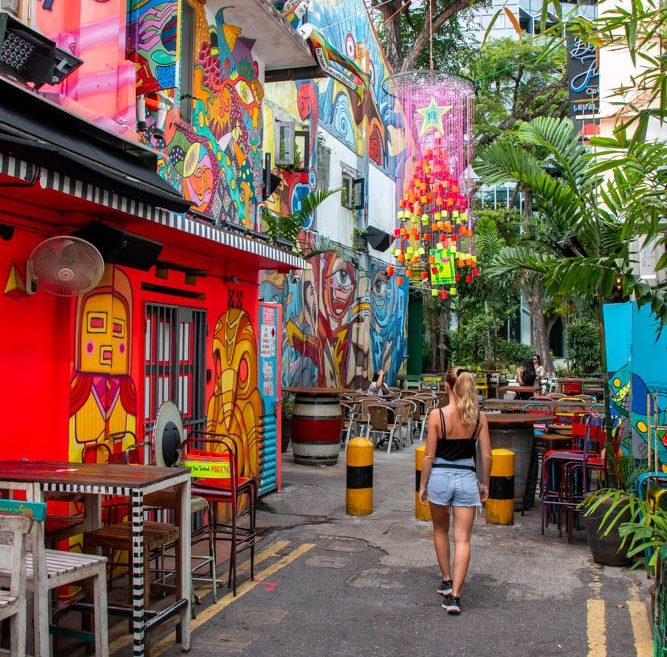 How to visit Singapore with only S$30 a day