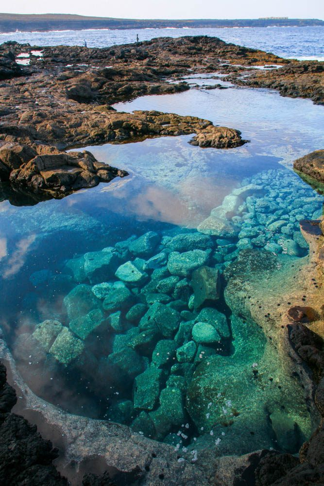 natural rock pools Lanzarote