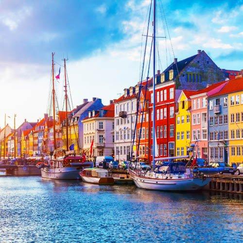 Where can I travel in Europe 2021? Denmark.