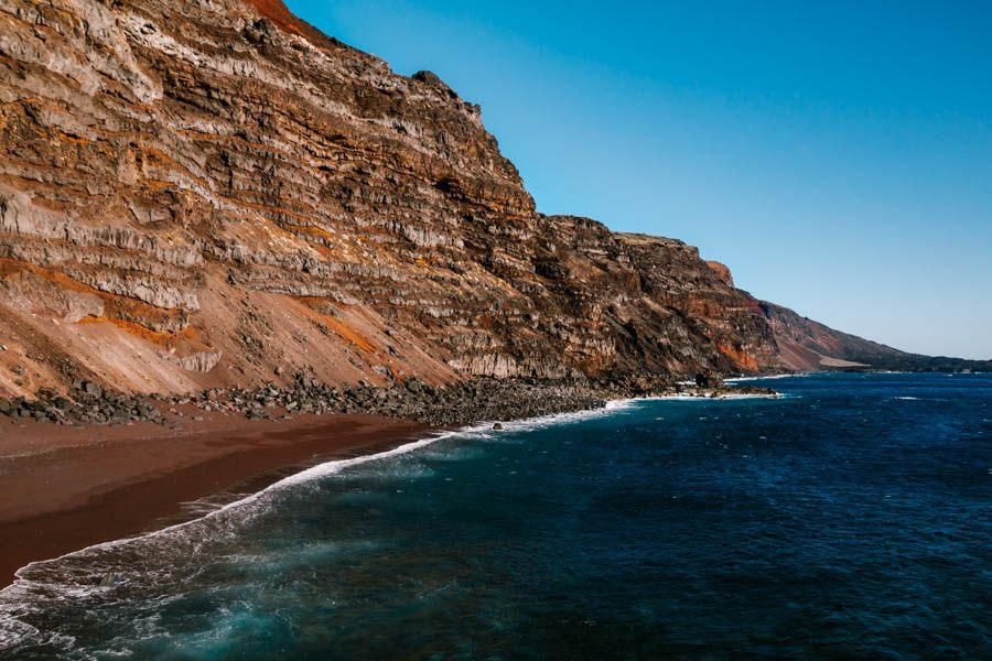 Red Beach El Hierro - Playa del Verodal