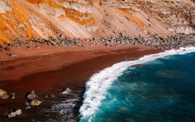 Visit the Red Beach, El Hierro